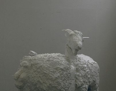 chimeras_creatures of greece    #chimeras#creature#greece#athens#sculpture#mythology#beast#character#3d#design#goat