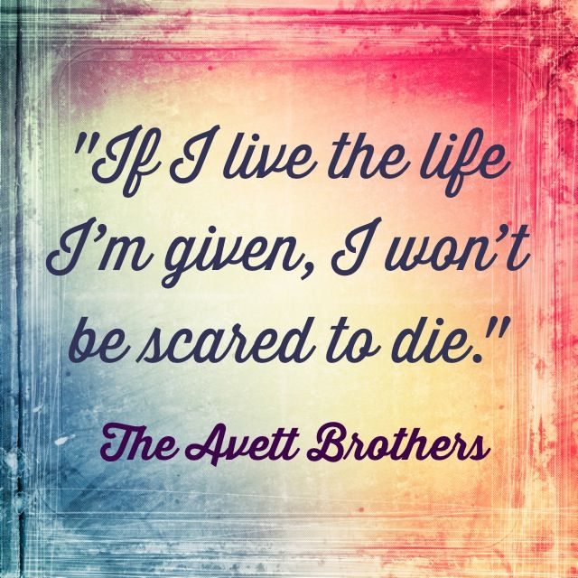 The Once and Future Carpenter- the Avett brothers