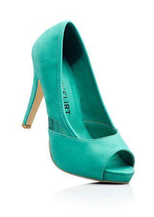 #smaragd #pump #bonprix