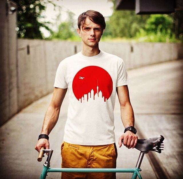 """""""Land of the Rising Sun"""" tee available online for $30 at www.hipstify.me  Can't wait to share some exciting news soon :-) Make sure to find us on Facebook to stay up to date with all of our latest news & products."""