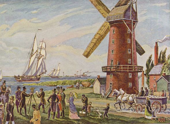 The rise and fall of the Gooderham and Worts windmill