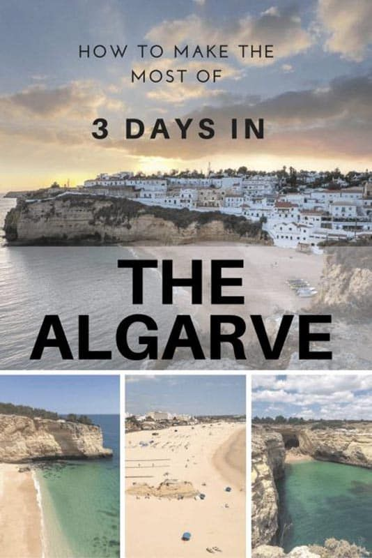 what to do with three days in the algarve