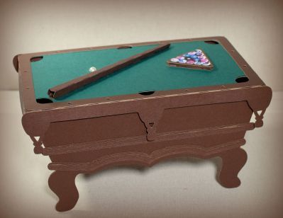Pool Table Gift Box