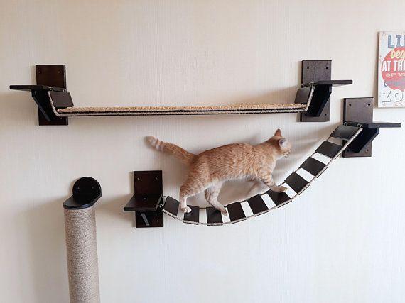 Cat Furniture Wall Mounted Cat Furniture Cat Shelves Cat Wall