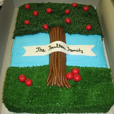 This is a family reunion cake!Delectable Sweets by the Smiths: Family Reunion