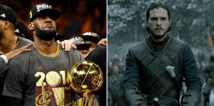 cool Game 7 Of Thrones: How LeBron James Is The Jon Snow Of Basketball