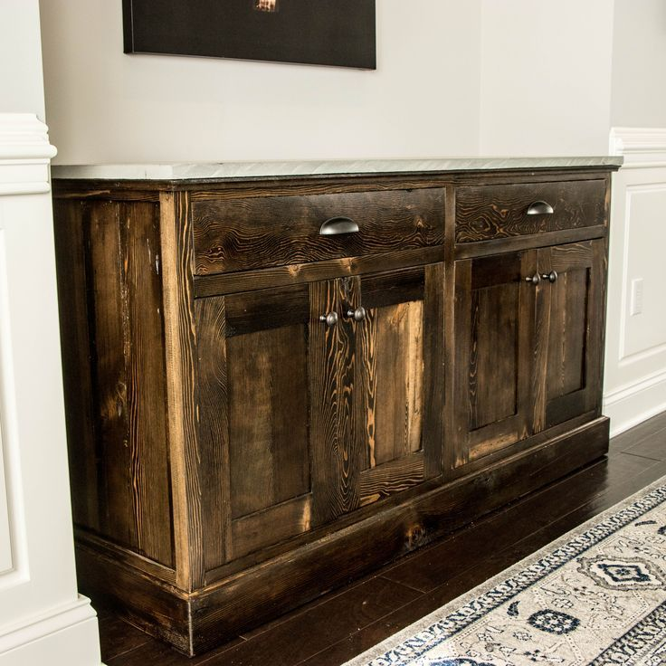 DIY Woodworking Ideas HOW TO BUILD A RECLAIMED WOOD BUFFET Check out this video where I make a buffet ...