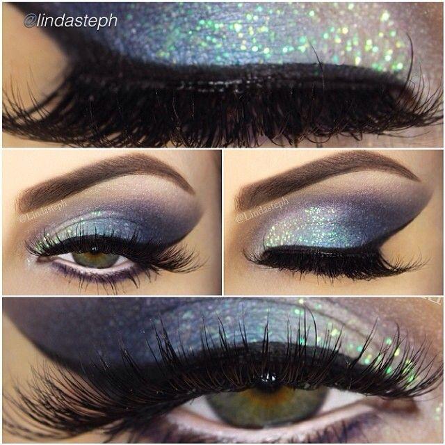 Glamorous makeup look by #lindasteph using Motives cosmetics!