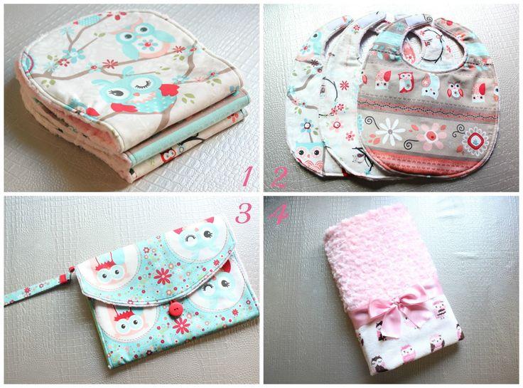 DIY: 4 Accesorios para Bebé y Cómo envolverlos con un lazo ~ Sara's Code: Blog de Costura + DIY