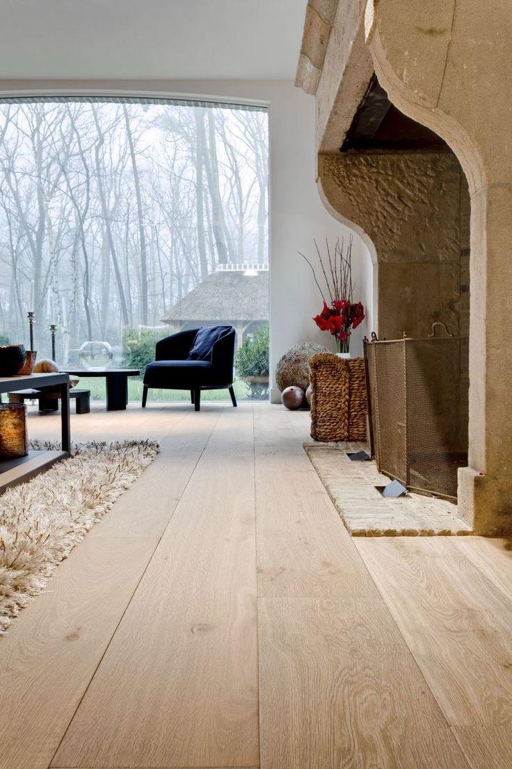 Brede eiken plankenvloer | Nobel Flooring | OBLY.com | inspiratieplatform & blogazine luxe wonen