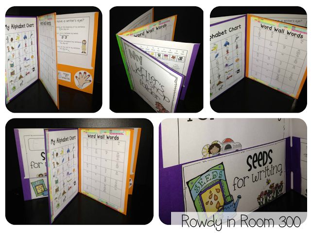 Rowdy in Room 300: Writing Workshop Folders!~  Check out blog to see how they are put together.  Folder materials available on TPT.