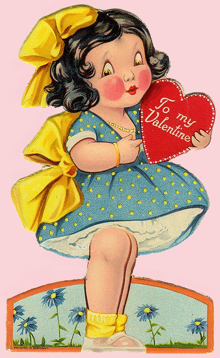 FREE ViNTaGE DiGiTaL STaMPS Vintage Valentine Printable