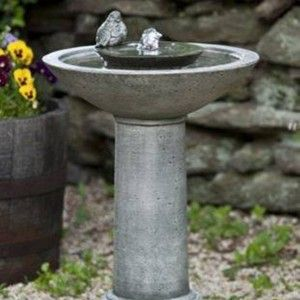 20 best Allen images on Pinterest Bird bath fountain Garden