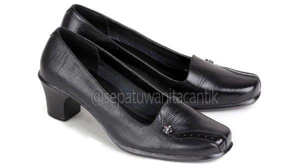 Sepatu Kerja Wanita/Sepatu Pantofel Perempuan/Sepatu Formal Wanita Kulit Terbaru Murah Branded ES559