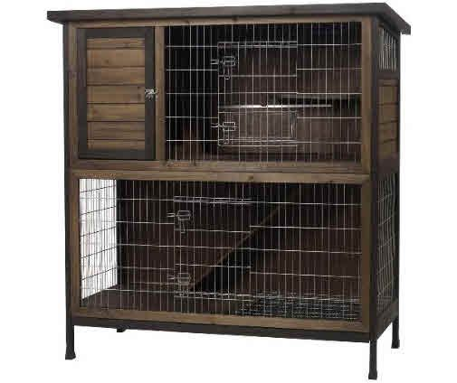 how to build a ferret hutch