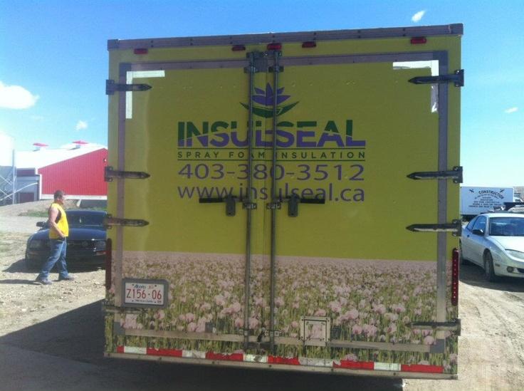 Insulseal vehicle wrap