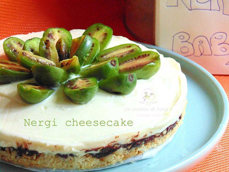 Cheesecake ai nergi - Babykiwi - Ricetta dolce