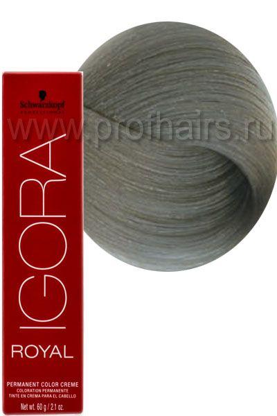 Schwarzkopf Igora Royal New 9,5-22 Краска для волос Светлый блондин пепельный экстра 60 мл.