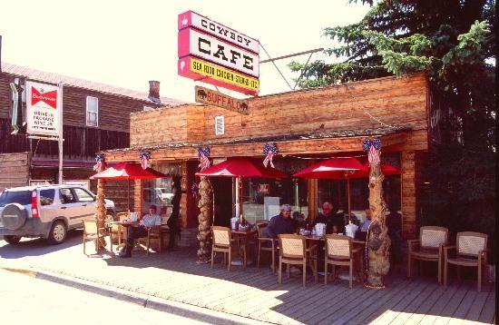 Cowboy Cafe Dubois Wy Menu