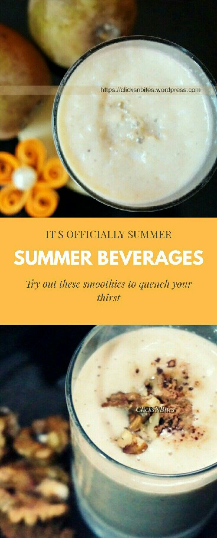 Beverages Clicks N Bites Veggie Smoothie Recipes Nutritious Breakfast Smoothies Fruit Vegetable Smoothie