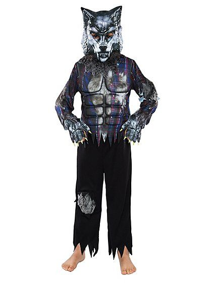 A strong pick for your little terror, this Werewolf fancy dress costume is a terrifyingly terrific way to heavy lift their dress up look. The padded torso fe...