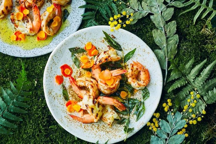 With turmeric as the star ingredient, you will love this healthy prawn recipe by Rebecca Lines and Hamish Ingham as a starter at your next dinner party.