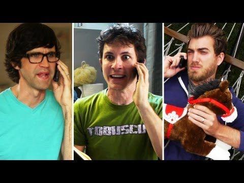 CAPTION FAIL: Mr. Cuddles (w/ Toby Turner) Rhett & Link  #hilarious #video #fail