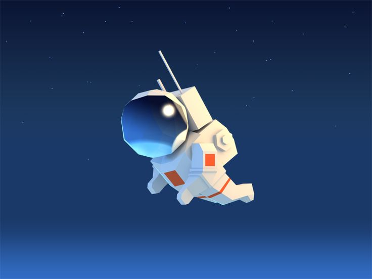 Astronaut by Alex Pushilin