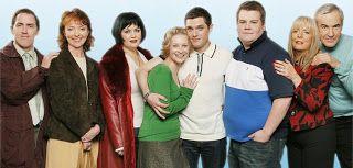 Gavin and Stacey - Joanna Page, Mathew Horne, Alison Steadman and Ruth Jones
