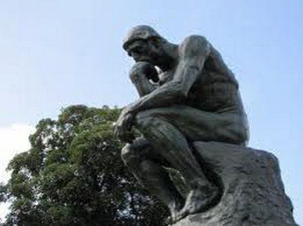 Thinking Man Statue