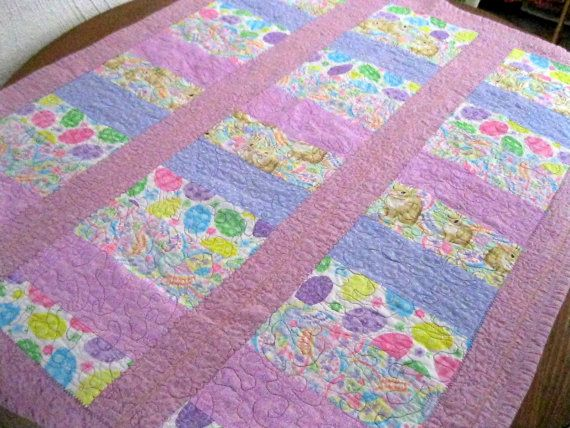 Free Easter Egg Quilt And Bunny Vest Pattern Download From