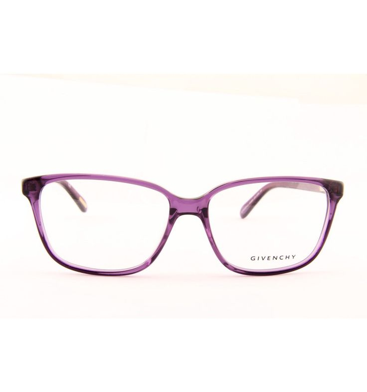 Fialové dámské brýlové obruby Givenchy VGV800 0U55 #brille #eyeglasses #frames #designer