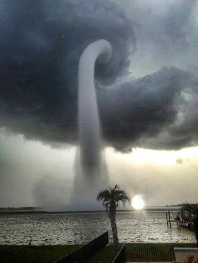 Trombe d'eau, Tampa Bay, Floride