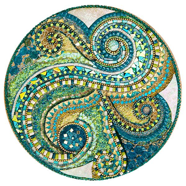87 best mosaics swirls and spirals images on pinterest