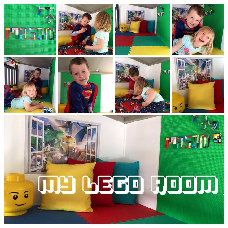 3rd level in the kids cubby house/fort. Lego play room.