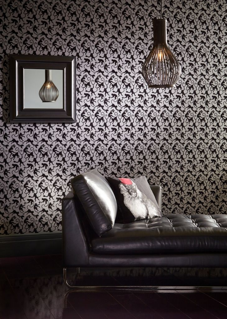 Treetops wallpaper in Jungle Night from the 'Shade Wilder' collection by Arthouse. Available exclusively in New Zealand through Guthrie Bowron.
