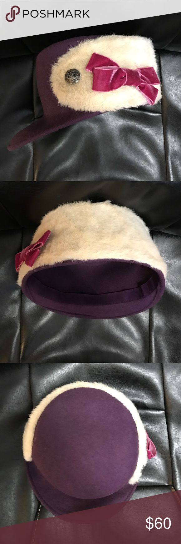 NWT Spanish brand Peregal Purple 100% Wool Hat Stylish 100% wool Spanish brand Peregal wool hat. Perfect for this winter! peregal Accessories Hats