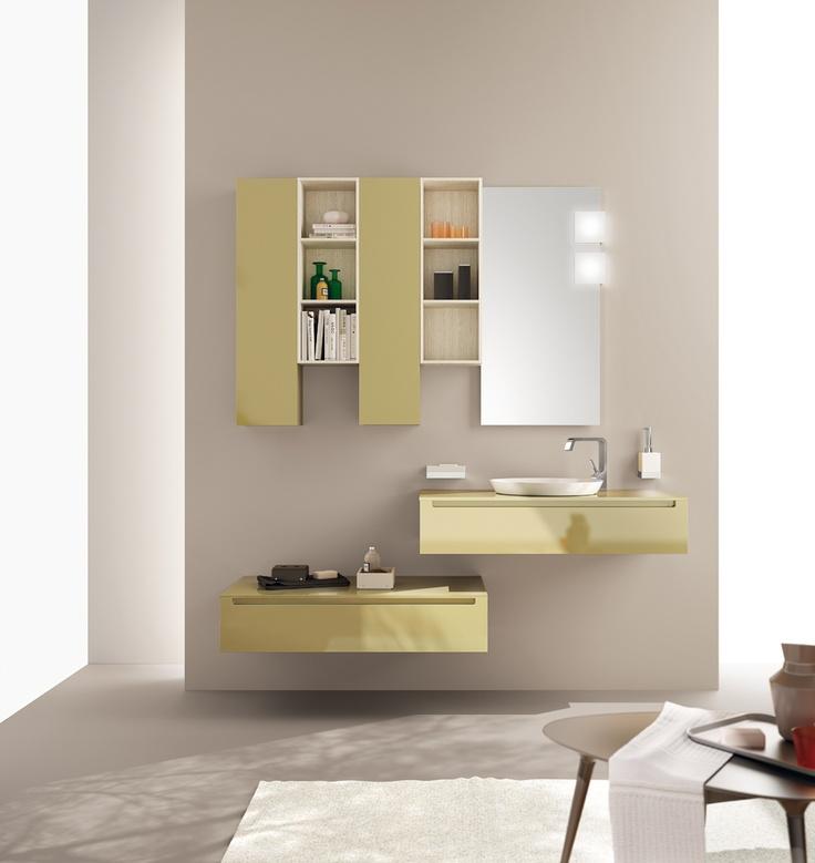 Idro Collection by Scavolini. The #bathroom according to Scavolini.