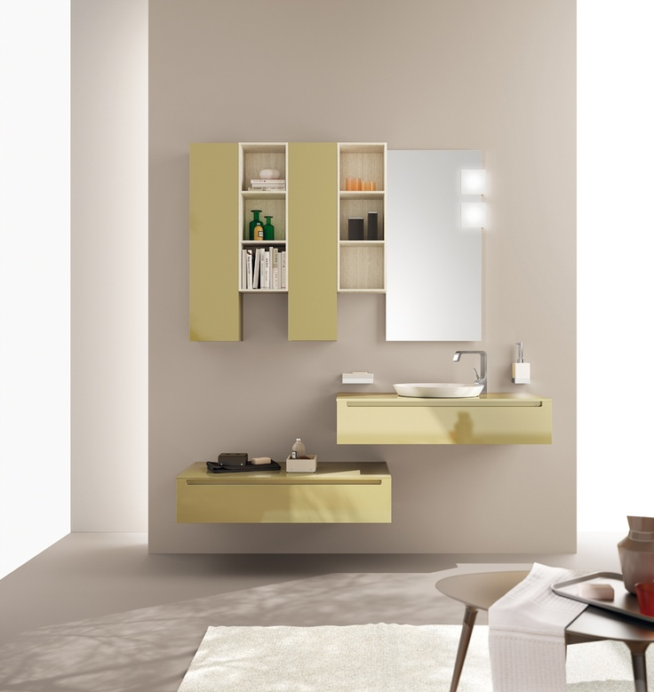 Idro Collection by Scavolini. The #bathroom according to Scavolini.