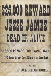 Google Image Result for http://www.thelastbestwest.com/graphics/2006/AuthenticWantedPosters/325_2500_jesse.jpg