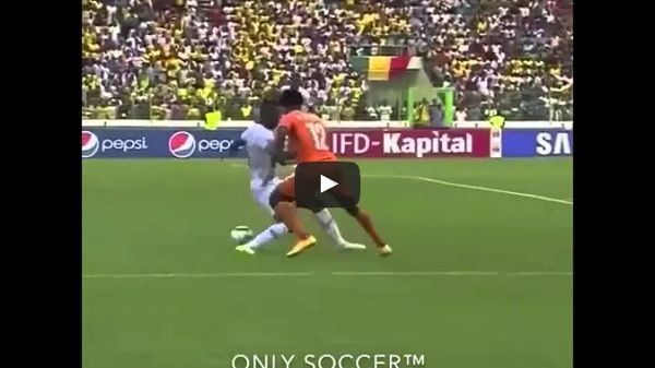 Siatka piłkarska Wilfrieda Bony. #football #soccer #sports #sport #pilkanozna #futbol #video #film