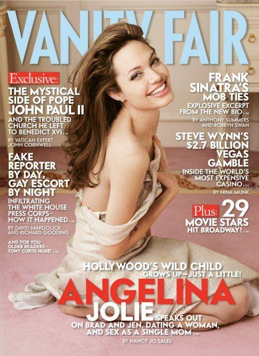 Photos: Angelina Jolie's Sultry Shoots for Vanity Fair | Vanity Fair