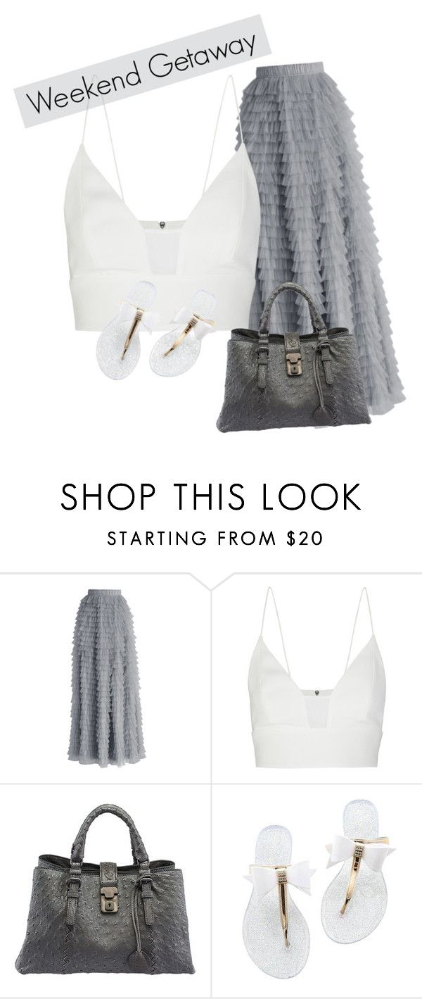 """WEEKEND GETAWAY"" by lusciouslulls on Polyvore featuring Chicwish, Narciso Rodriguez and Bottega Veneta"