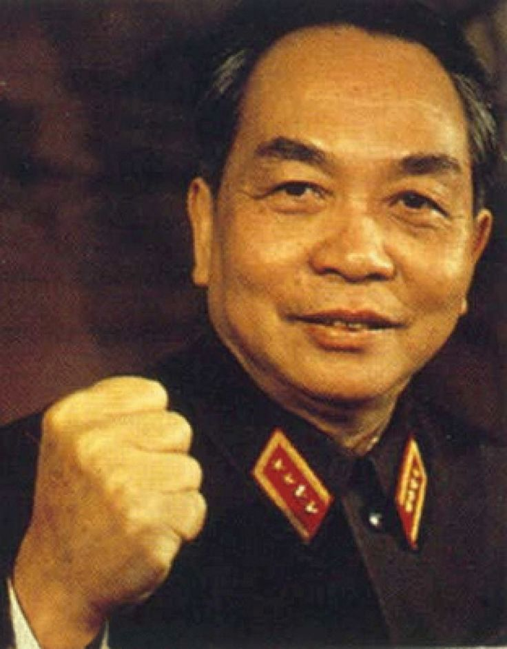 Võ Nguyên Giáp - Vietnamese general who commanded the Vietnamese People's Army to liberate Vietnam from French colonialism in the First Indochina War, and later from US occupation in the Vietnam War