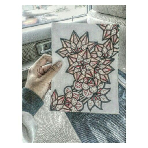 #Zen #Zentangle #Zendala #Mandala #Simple #WorryFree #Zendoodle #Doodle #DoodleArt #LetsGetStarted #LPY27 #WonderfullIndonesia #Indonesia