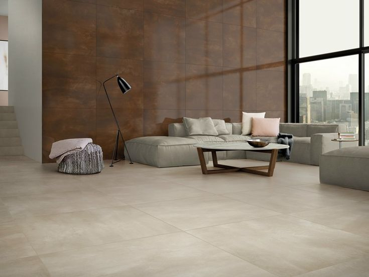 Porcelain stoneware wall/floor tiles with metal effect STEELTECH Granitoker Collection by Casalgrande Padana