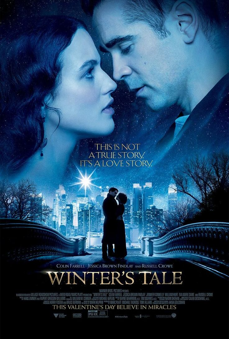 Fourth WINTER'S TALE Poster With Colin Farrell, Jessica Brown Findlay