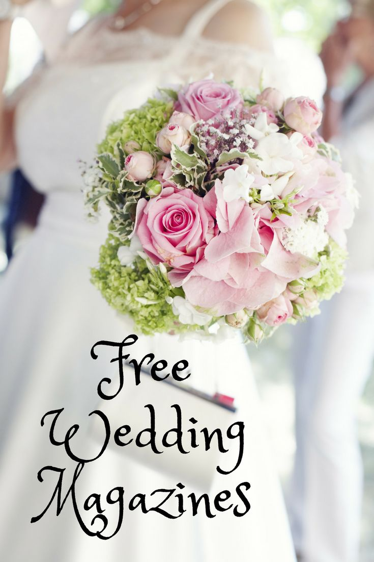 Request free wedding magazines to help you plan your wedding, no strings attached.