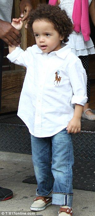 Too cool for school! cuffed jeans, a crisp white shirt  & boat shoes...