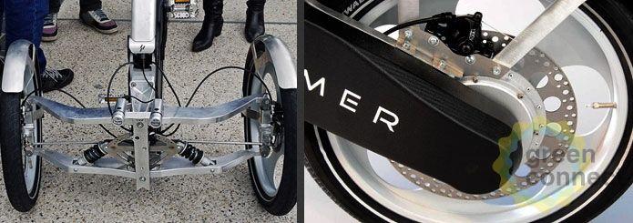 Трехколесный электрический велосипед Drymer V0.5